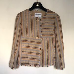Authentic Chanel Wool Jacket from Cruise 2000